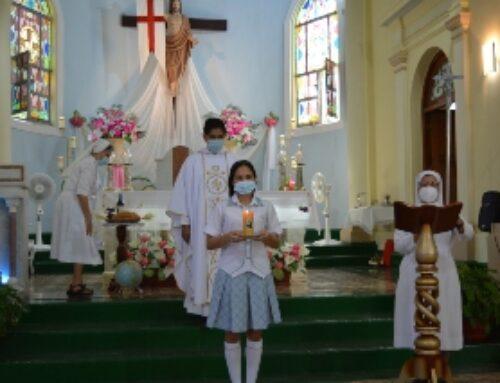 Eucaristía en honor a Santa María Bernarda y María Auxiliadora